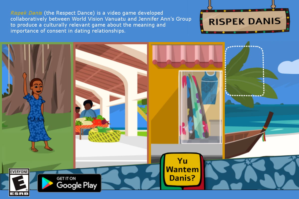 Rispek Danis (the Respect Dance) is a Game About Consent