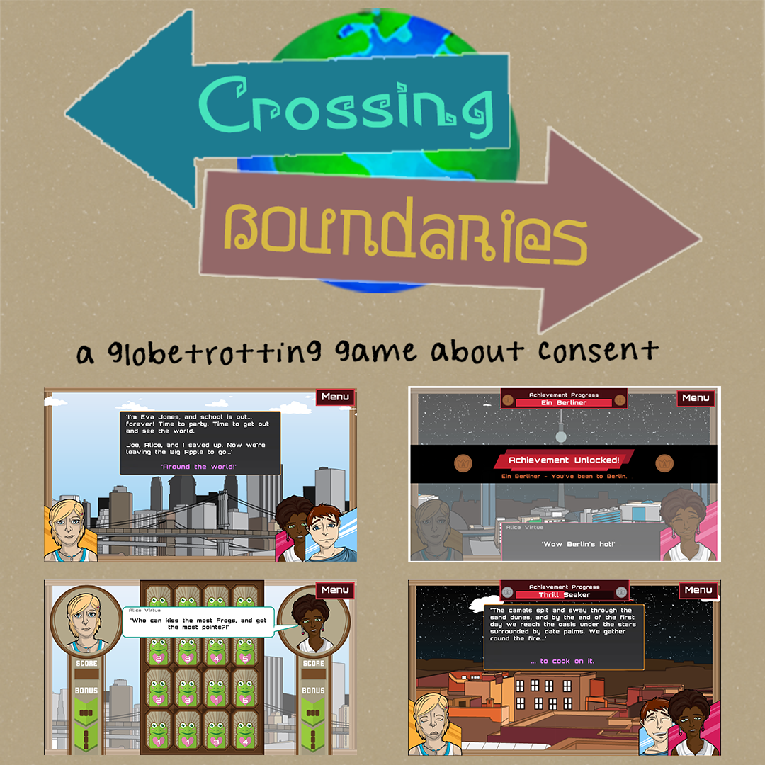 A video game about consent: Crossing Boundaries
